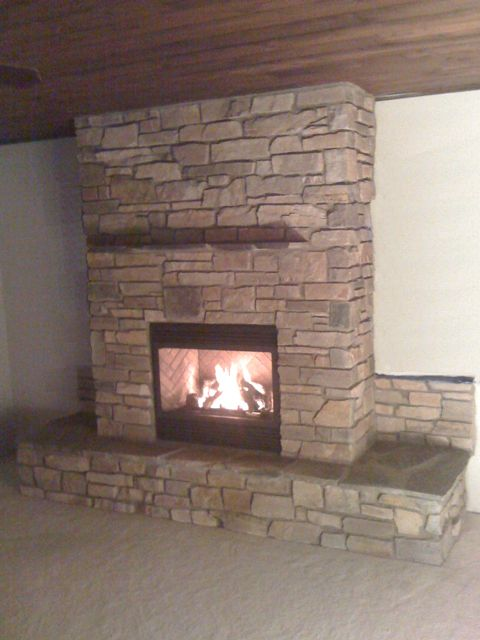 Fireplaces Masonry And Exterior Remodeling For Traverse